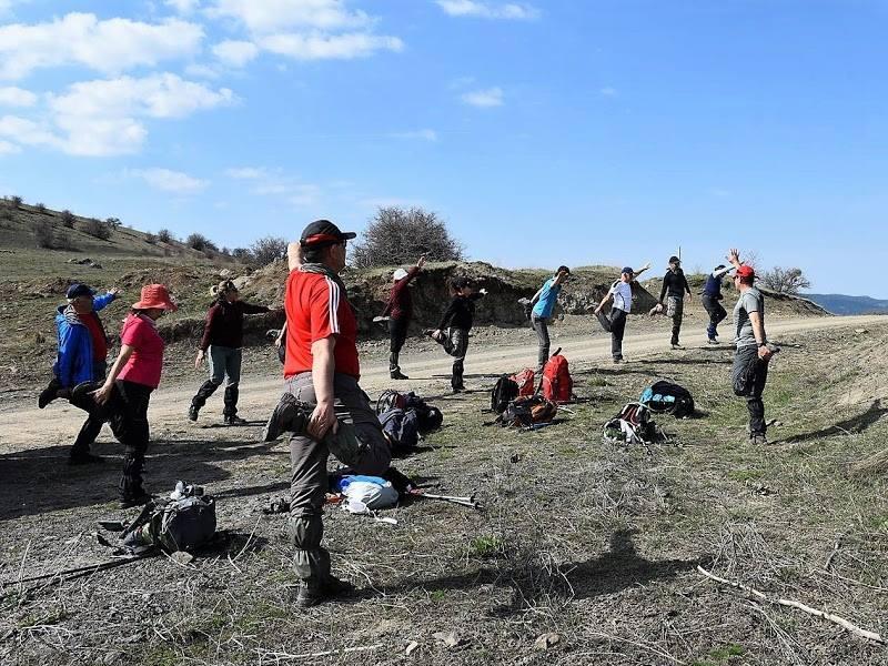 30 Nisan 2017 Pazar günü  Aydos Yaylasında doğa yürüyüşü yapılmıştır.