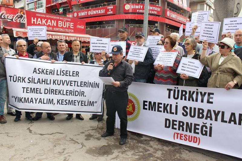 """Ankara Sakarya Meydanında """"Nöbet Bizde"""" etkinliği gerçekleştirilmiştir."""