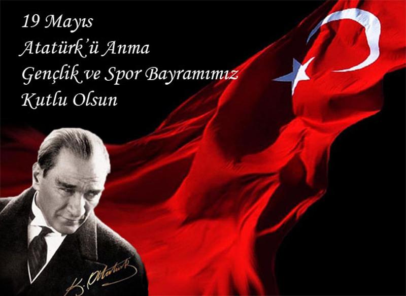 Atatürk'ü Anma Gençlik ve Spor Bayramı kutlu olsun.