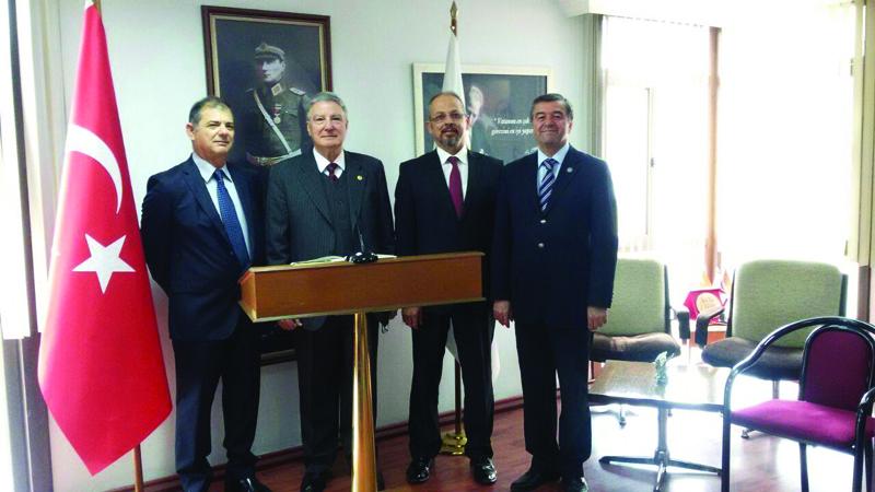 Kıbrıs Emekli Subaylar Derneği Yönetim Kurulu Üyelerinin TESUD'u Ziyareti