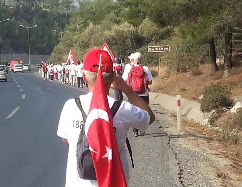 BAŞKOMUTANIN İZİNDE GAZİTEPE'den - ŞUHUT'a Zafer Yürüyüşü