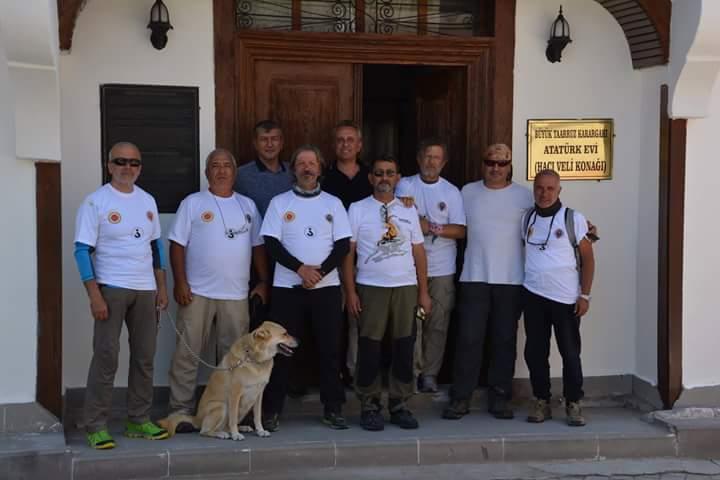 GAZİTEPE'den ŞUHUT'a Zafer Yürüyüşü düzenlenmiştir