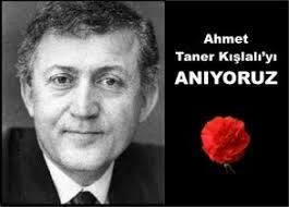 Prof. Dr. Ahmet Taner Kışlalı'yı sevgi, saygı ve özlemle anıyoruz.