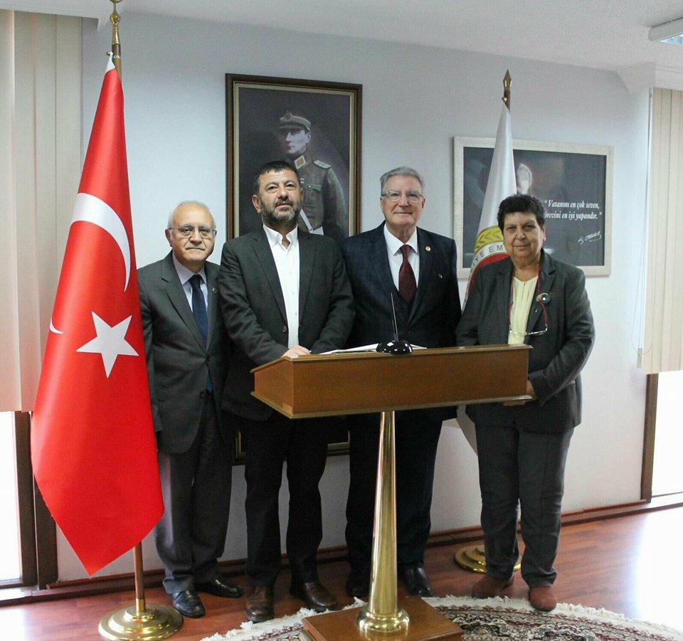 CHP Ankara 2.Bölge Milletvekili Sayın Şenal SARIHAN ve CHP Malatya Milletvekili Sayın Veli AĞABABA'nın TESUD'u Ziyareti