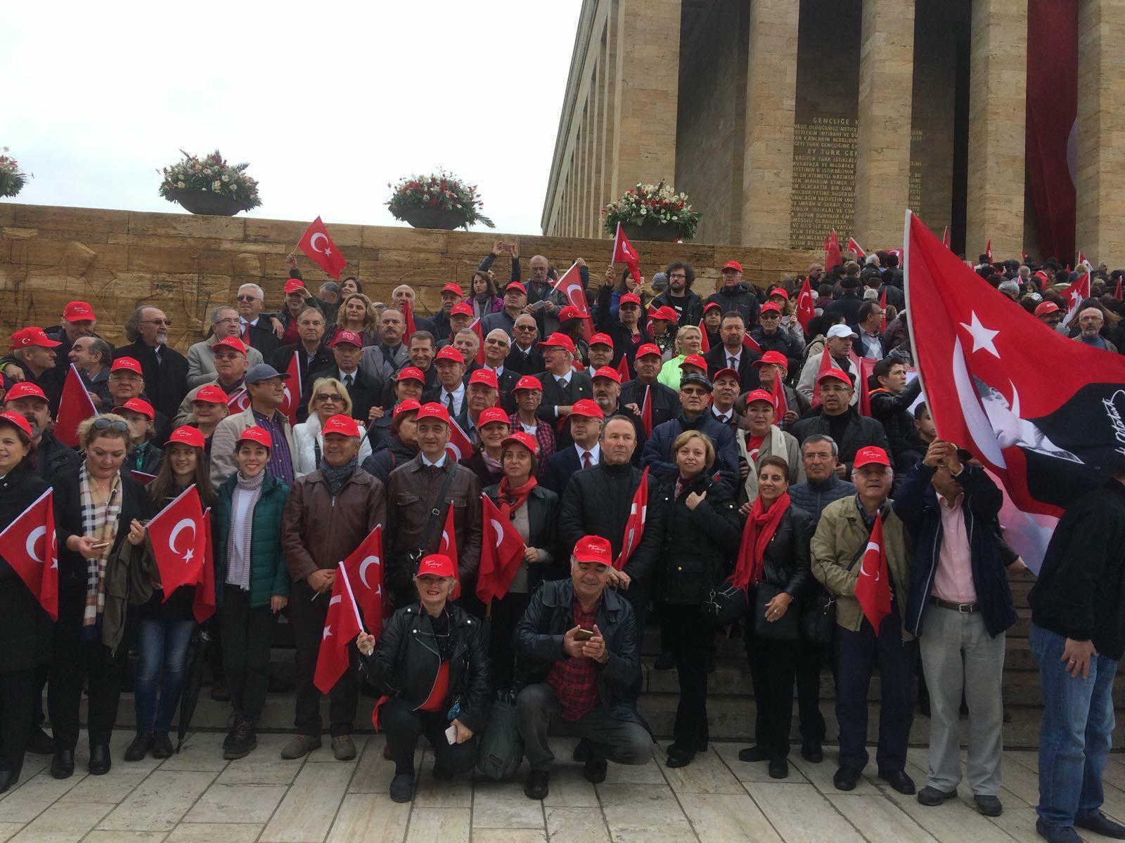 Cumhuriyetimizin 94. Yılını Ankara'da Anıtkabir'de kutladık