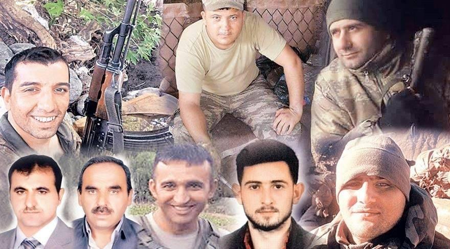 Hakkari ve Diyarbakır'da PKK'lı teröristlerle çıkan çatışmalarda 10 kahraman güvenlik görevlimiz şehit olmuş, 11 güvenlik görevlimiz ise yaralanmıştır.