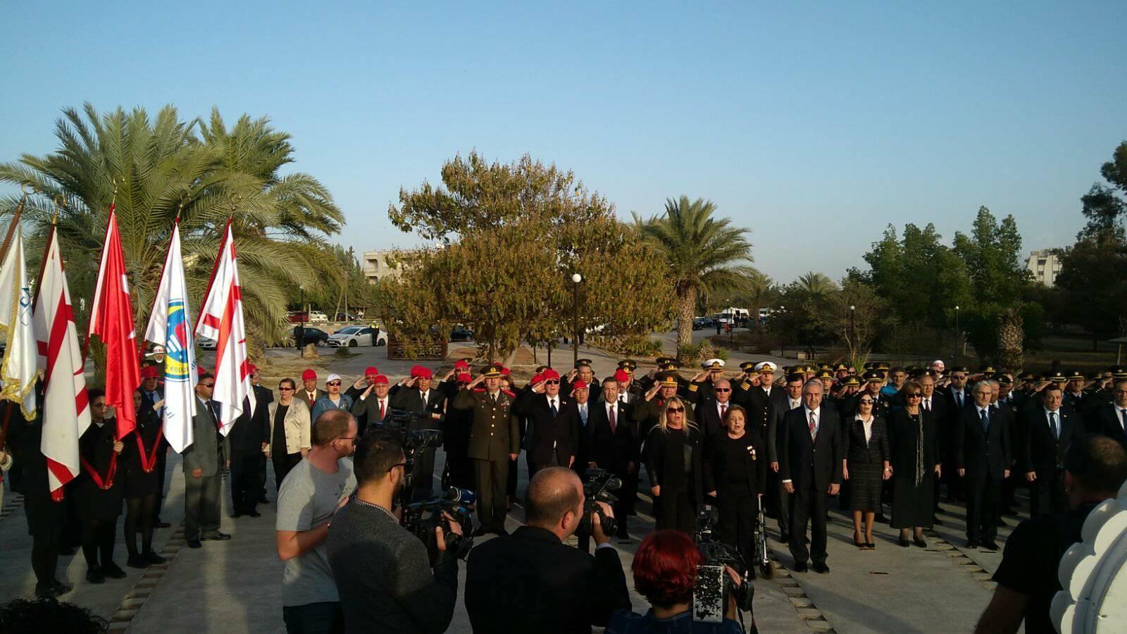 Kuzey Kıbrıs Türk Cumhuriyeti (KKTC )'nin 34. Kuruluş Yıl Dönümü
