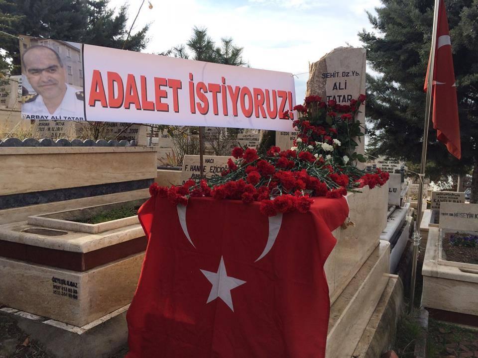 Dz. Yb. Ali Tatar, ölümünün 8. yılında mezarı başında anıldı.
