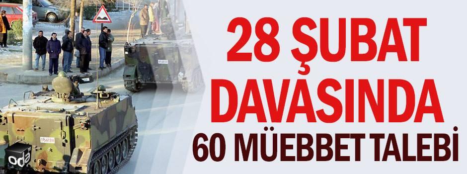 28 Şubat Davasının 93. Duruşması 21 Aralık 2017 Perşembe günü saat 10.00'da Ankara Adliyesi 5. Ağır Ceza Mahkemesinde yapılmıştır.