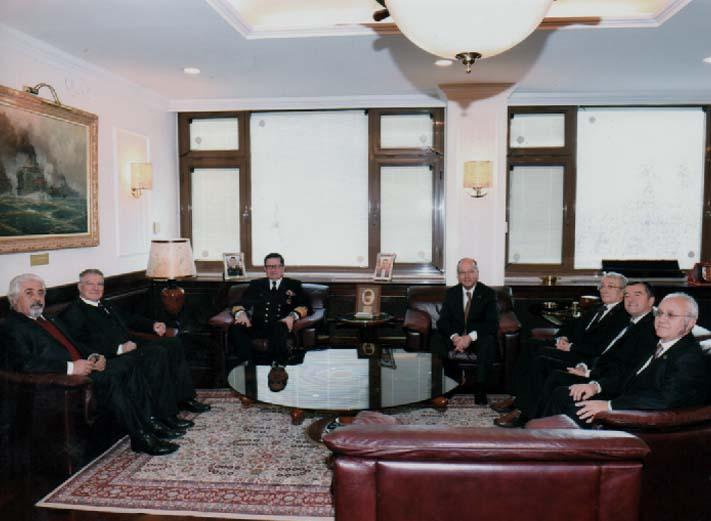 TESUD Yönetim Kurulu Üyeleri Deniz Kuvvetleri Komutanını Ziyaret Etmişlerdir.