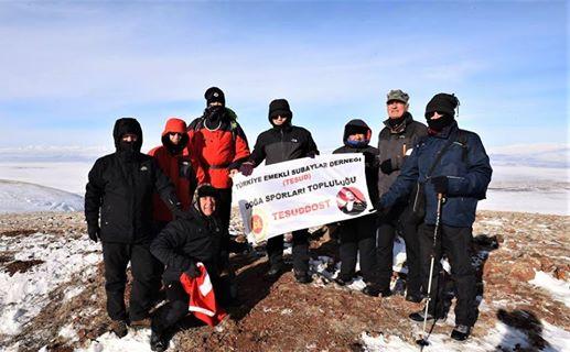 Kars - Sarıkamış Bölgesinde kültür ve yürüyüş etkinliği düzenlenmiştir.
