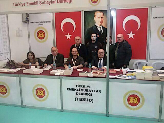 Ankara Kitap Fuarında 2. gün faaliyetleri tamamlanmıştır.