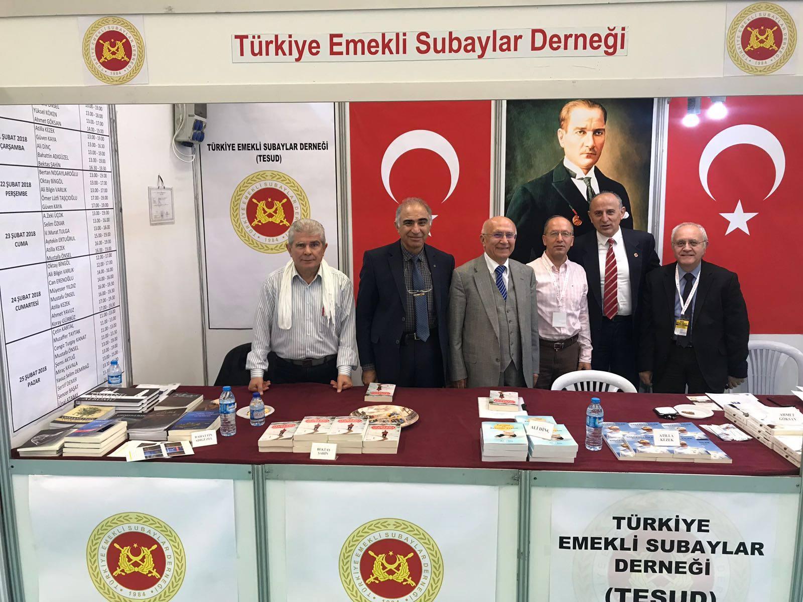 Ankara Kitap Fuarında 6. gün faaliyetleri tamamlanmıştır.