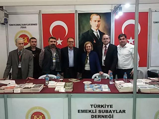 Ankara Kitap Fuarında 9. gün faaliyetleri tamamlanmıştır.