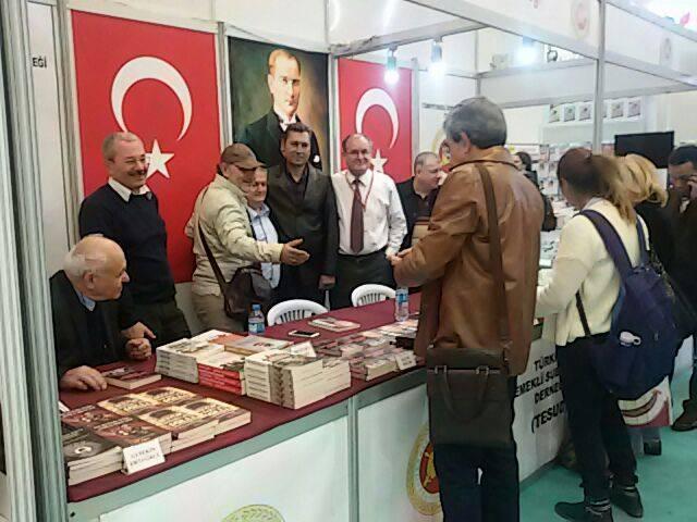 Ankara Kitap Fuarında 8. gün faaliyetleri tamamlanmıştır.
