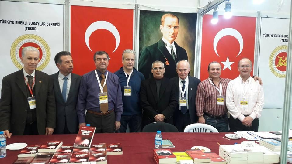Ankara Kitap Fuarında 7. gün faaliyetleri tamamlanmıştır.