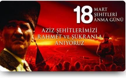 18 Mart Çanakkale Deniz Zaferi ve Şehitler Günü etkinlikleri