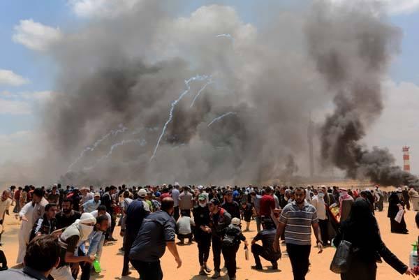 İsrail'in Gazze'de Filistin halkına yönelik saldırısını nefretle kınıyoruz.