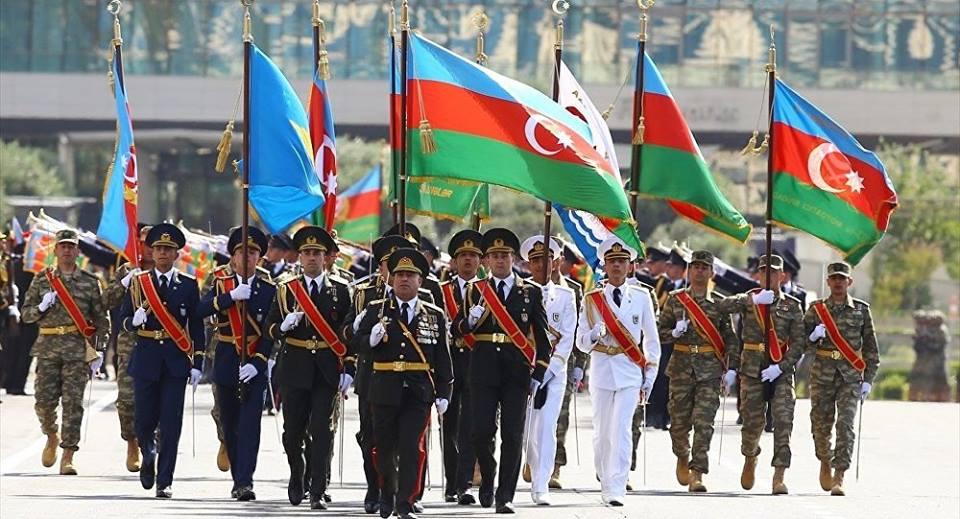 Azerbaycan Silahlı Kuvvetler Günü ve Azerbaycan Ordusunun 100. kuruluş yıl dönümü