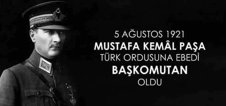 Gazi Mustafa Kemal ATATÜRK'ün ebedi Başkomutanımız oluşunun 97. yılı kutlu olsun.