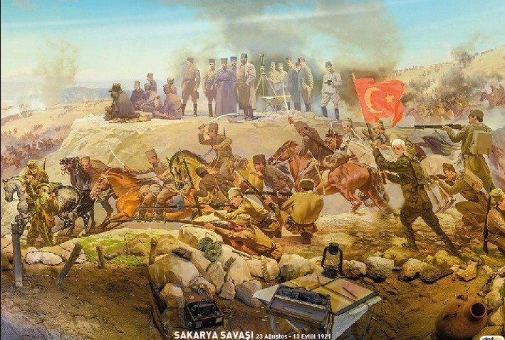 Sakarya Meydan Muharebesi'nin 97. Yılı kutlu olsun