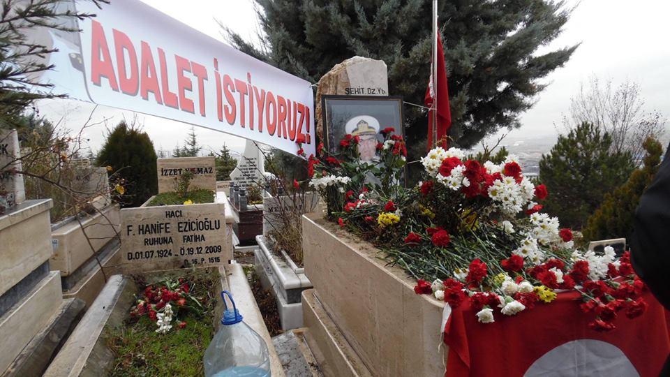 Dz. Yb. Ali Tatar, ölümünün 9. yılında mezarı başında anıldı.