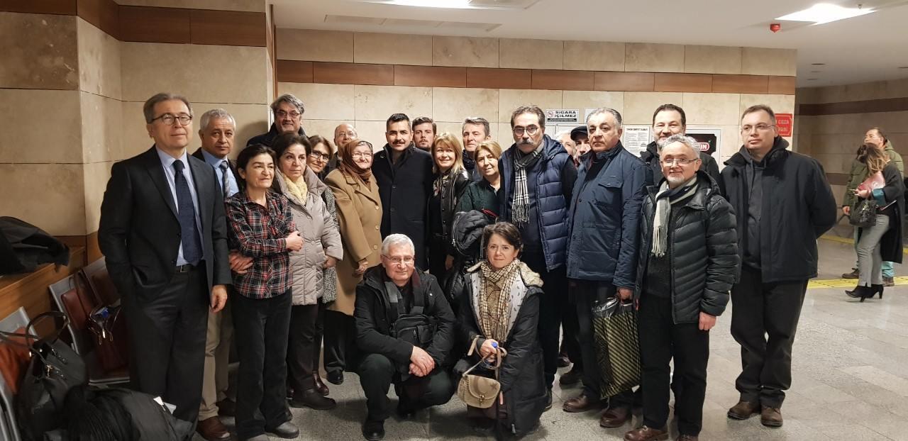 Kumpas şehidimiz Murat Özenalp'in ailesi tarafından açılan tazminat davası