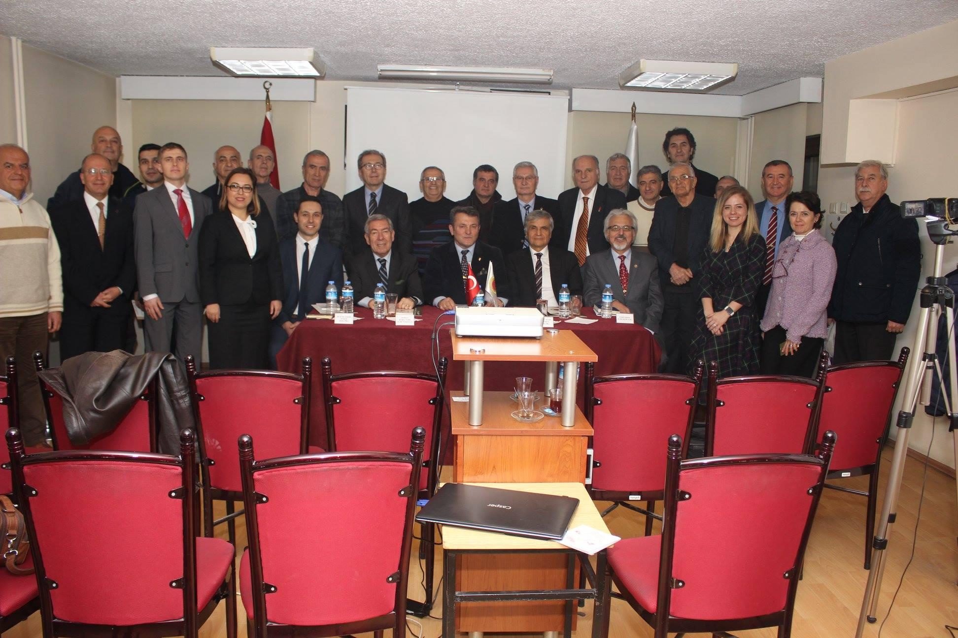 """""""Doğu Akdeniz - Mavi Vatanın Geleceği"""" konulu çalıştay düzenlenmiştir."""