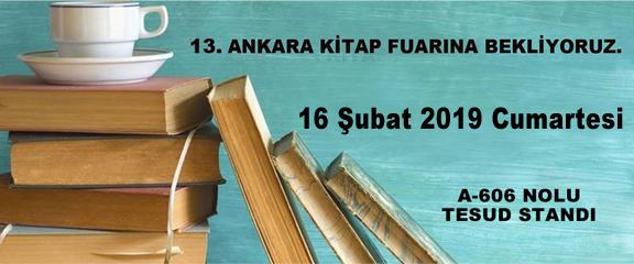Ankara Kitap Fuarı İmza Etkinliği; 16 Şubat 2019 Cumartesi