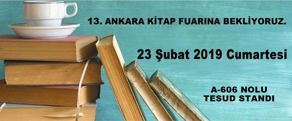 TESUD 13. Ankara Kitap Fuarı İmza Etkinliği;  23 Şubat 2019 Cumartesi
