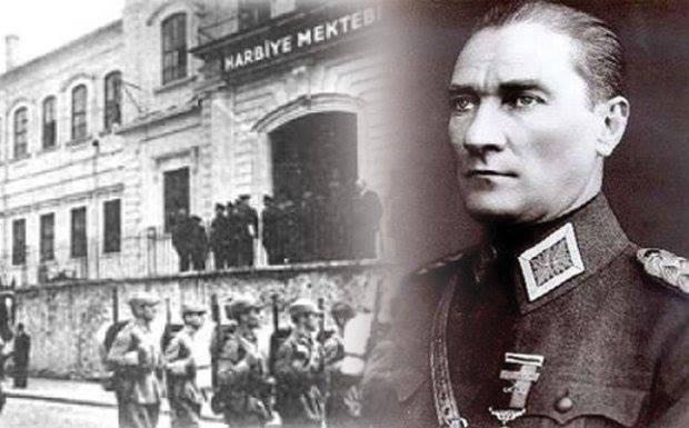 Gazi Mustafa Kemal ATATÜRK'ün Harp Okuluna girişinin 120. yıl dönümü