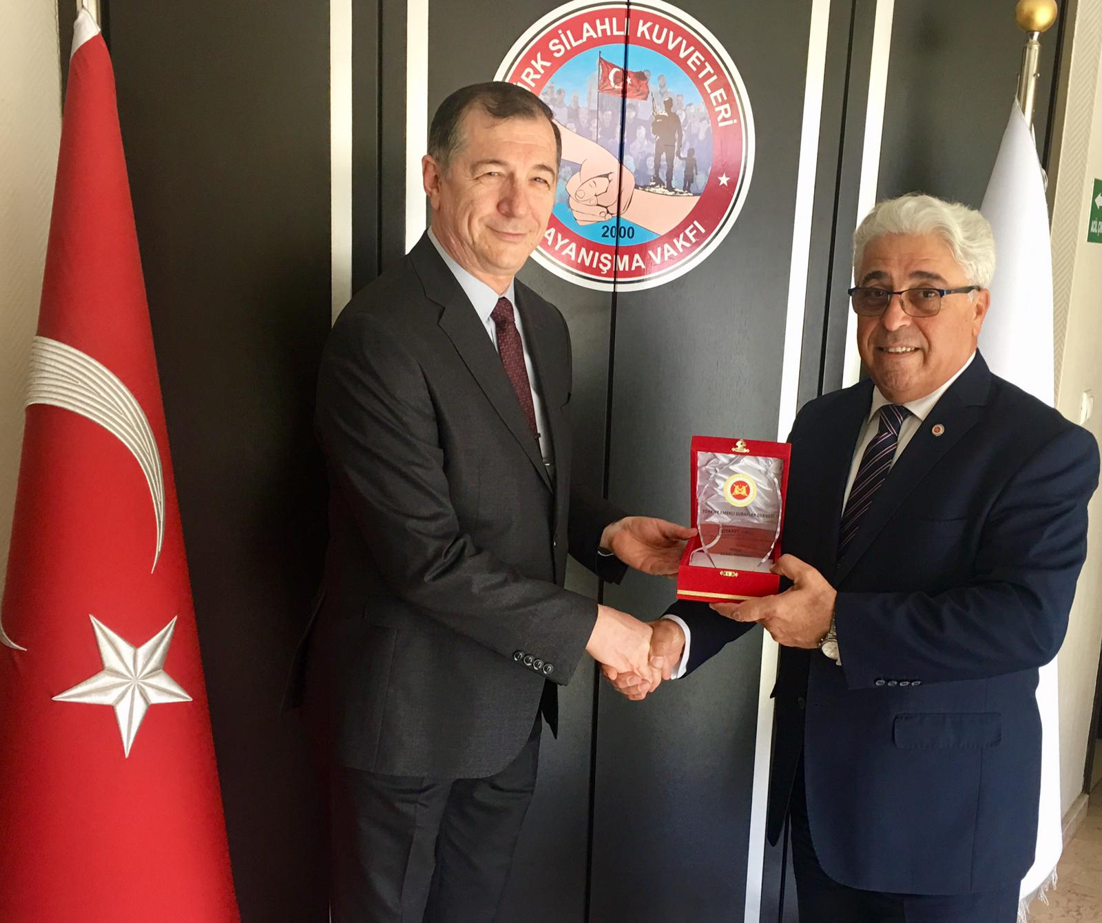 TSK Dayanışma Vakfı Başkanını Ziyaret