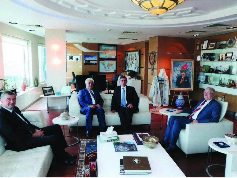 Türkiye Barolar Birliği Başkanını Ziyaret