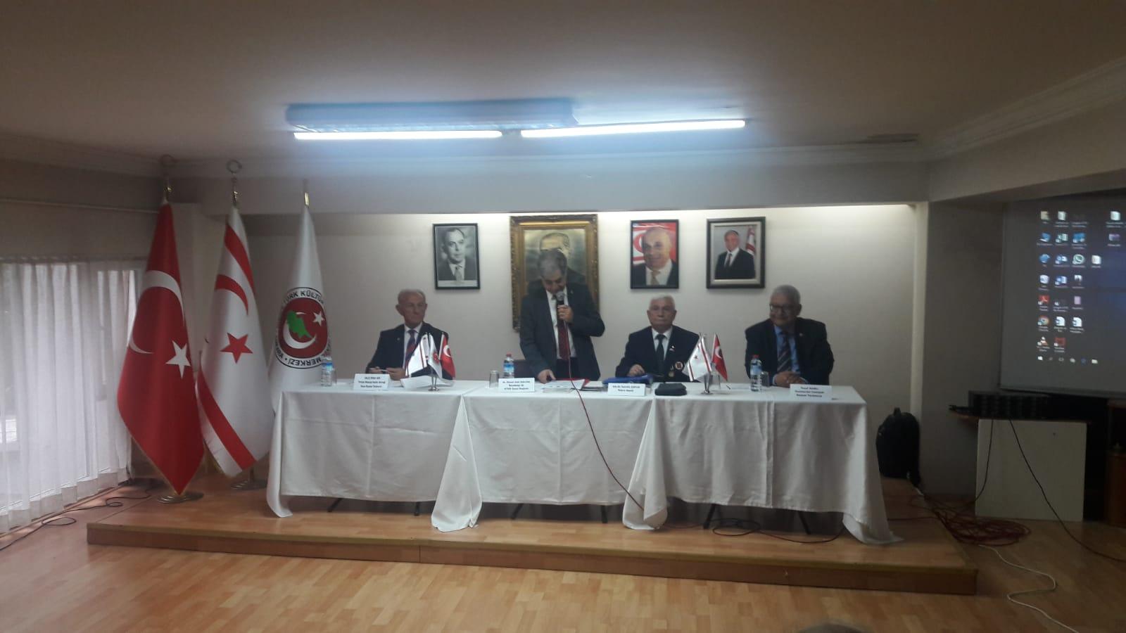 Kıbrıs Türk Barış Harekâtı'nın Siyasal, Ekonomik, Stratejik, Jeopolitik Etkileri Sonuçları Ve Doğu Akdeniz'deki Gelişmeler Konulu Panel