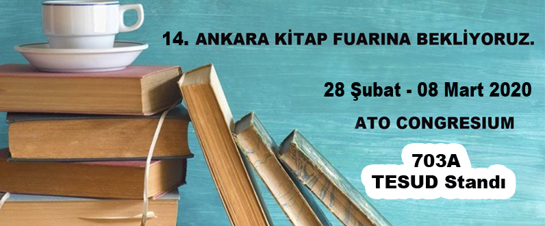 14. Ankara Kitap Fuarındayız