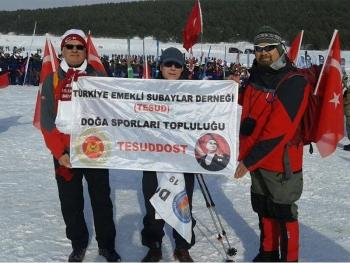 Sarıkamış Harekatı sırasında şehit düşen Mehmetçiklerimizi anma yürüyüşü
