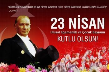 23 Nisan Ulusal Egemenlik ve Çocuk Bayramı'mızı Ankara'da Anıtkabir'de kutluyoruz.