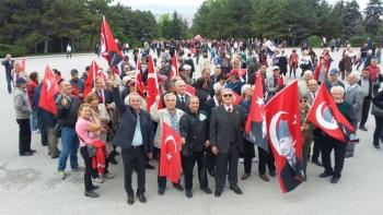 19 Mayıs ATATÜRK'ü Anma, Gençlik ve Spor Bayramımızı Ankara'da Anıtkabir'de kutladık.