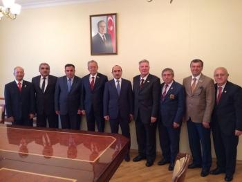 TESUD Heyetinin Azerbaycan Aydınlar Ocağı ve Azerbaycan Karabağ Malulleri, Gazileri ve Şehit Aileleri Derneğinin davetlisi olarak Bakü / Azerbaycan'a yaptıkları ziyaret