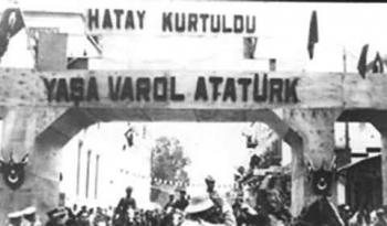 Hatay'ın Türkiye'ye katılmasını 78. yıldönümü kutlu olsun.