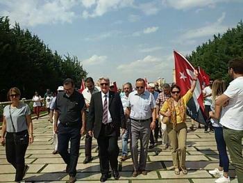 Türkiye Emekli Subaylar Derneği, Büyük Zaferin 95. yılında, tüm il ve ilçelerde düzenlenen bayram kutlamalarına katılmıştır.