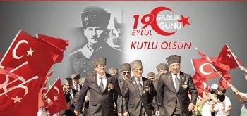 19 Eylül Gaziler Günü nedeniyle Ulus Atatürk Anıtı önünde tören yapılacaktır.