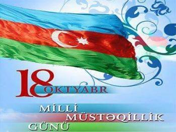 Azerbaycan'ın Bağımsızlık Günü Kutlu Olsun