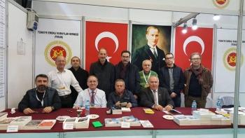 Ankara Kitap Fuarında 1. gün faaliyetleri tamamlanmıştır.