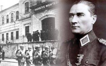 Gazi Mustafa Kemal ATATÜRK'ün Harp Okuluna girişinin 119. yıldönümü. Kutlu olsun.
