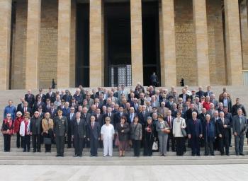 Türkiye Emekli Subaylar Derneği (TESUD)'nin 34'üncü Kuruluş Yıldönümü nedeniyle; 5 Nisan'da Anıtkabir'deyiz