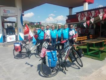 Bisikletçilerimiz Kırıkkale'de