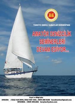Amatör Denizci Belgesi ve Kısa Mesafe Telsiz Operatörü Yeterlik Belgesi alınmasına yönelik seminerlerin 13'üncüsü