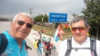 Bisikletçi Emekli Subaylarımız Merzifon'da