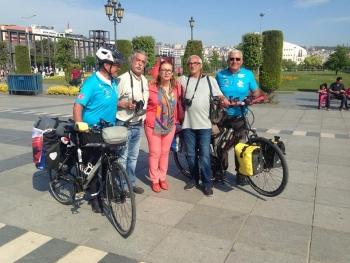 Bisikletçi Emekli Subaylarımız Samsun'da